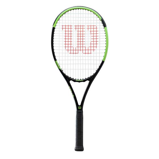 Wilson Nemeisis Team 2.0 Tennis Racquet Black / Green 4 3/8 in, , rebel_hi-res